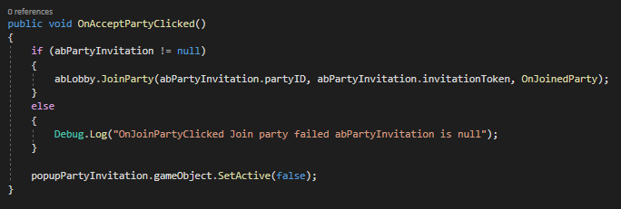 Lobby, Party and Friend Invitation System for Your Game