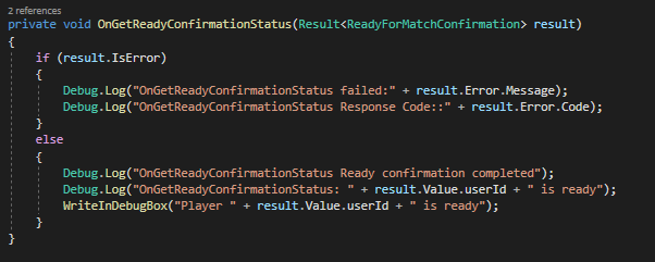 Enabling Ready-to-Match Callback on Your Game's Matchmaking