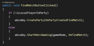 Creating Game Matchmaking & Lobby
