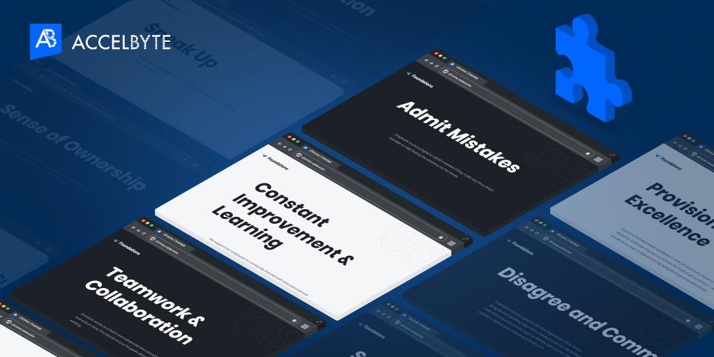 AccelByte Company Values