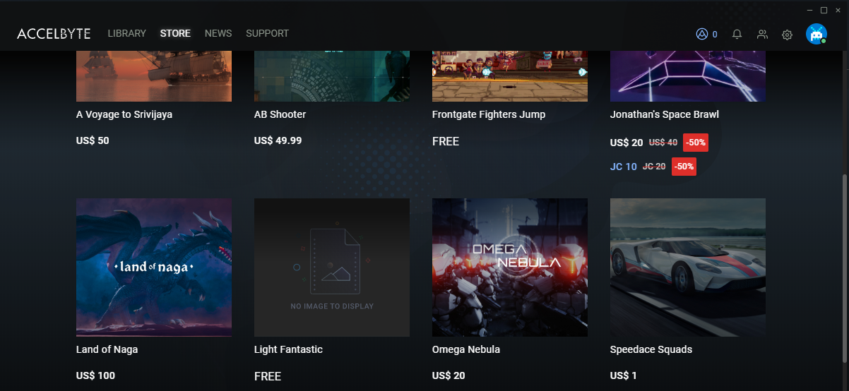 Easy Game Launcher & Storefront for Your Video Game