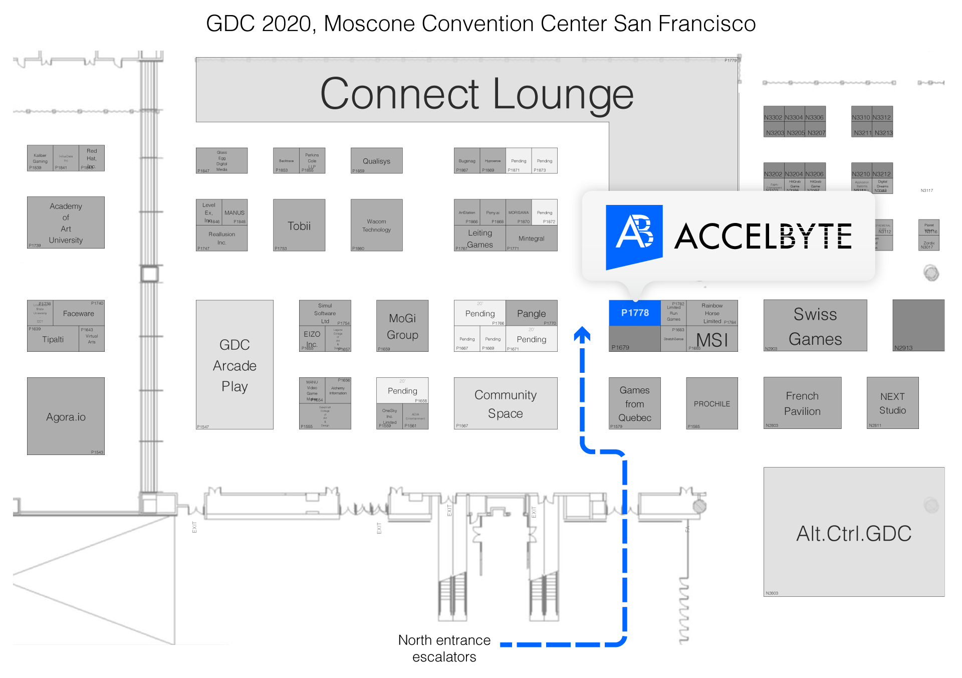 GDC 2020 Floor Plan