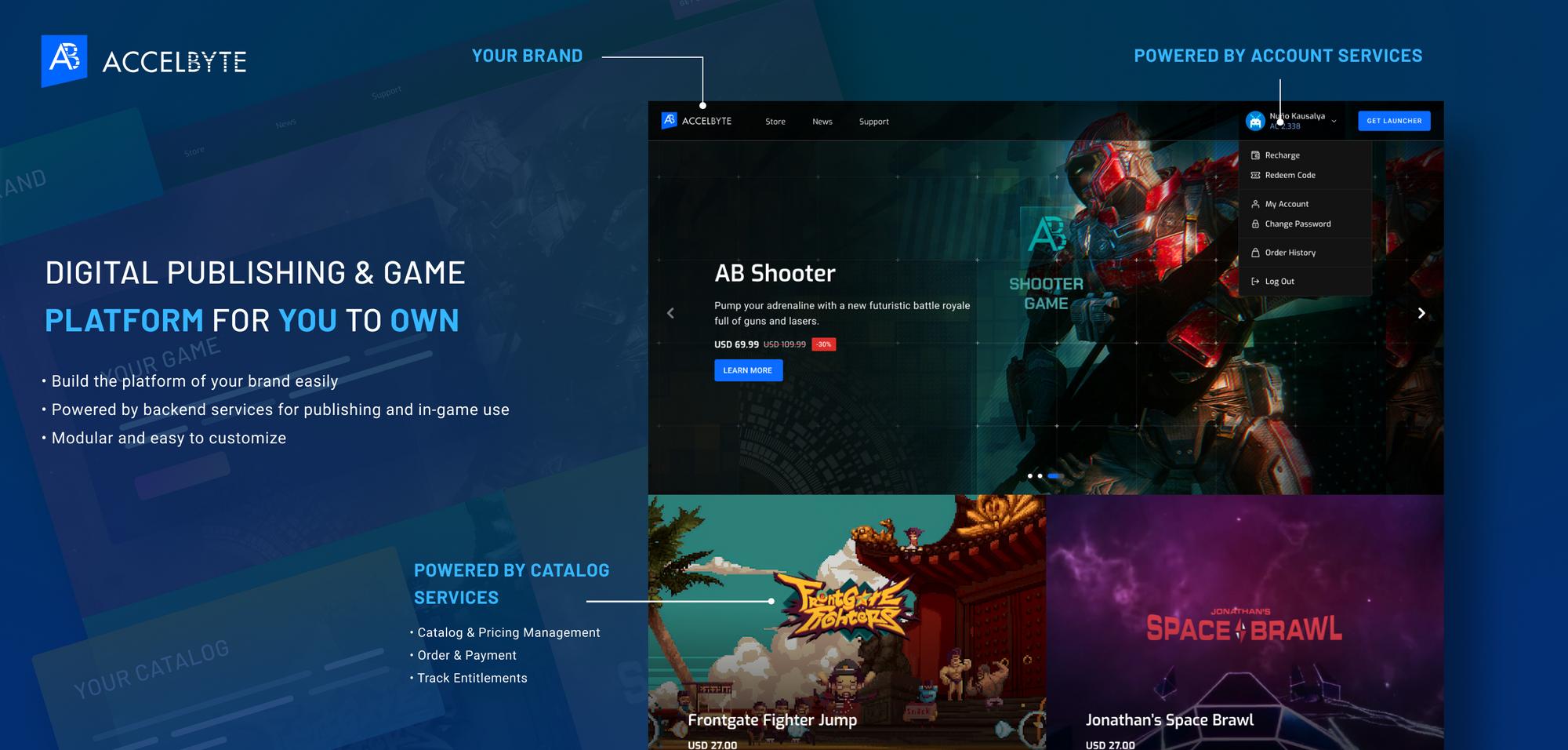 Digital Publishing & Game Platform
