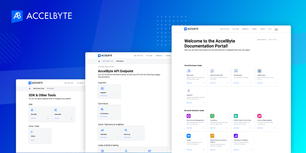 AccelByte Documentation Page Overview